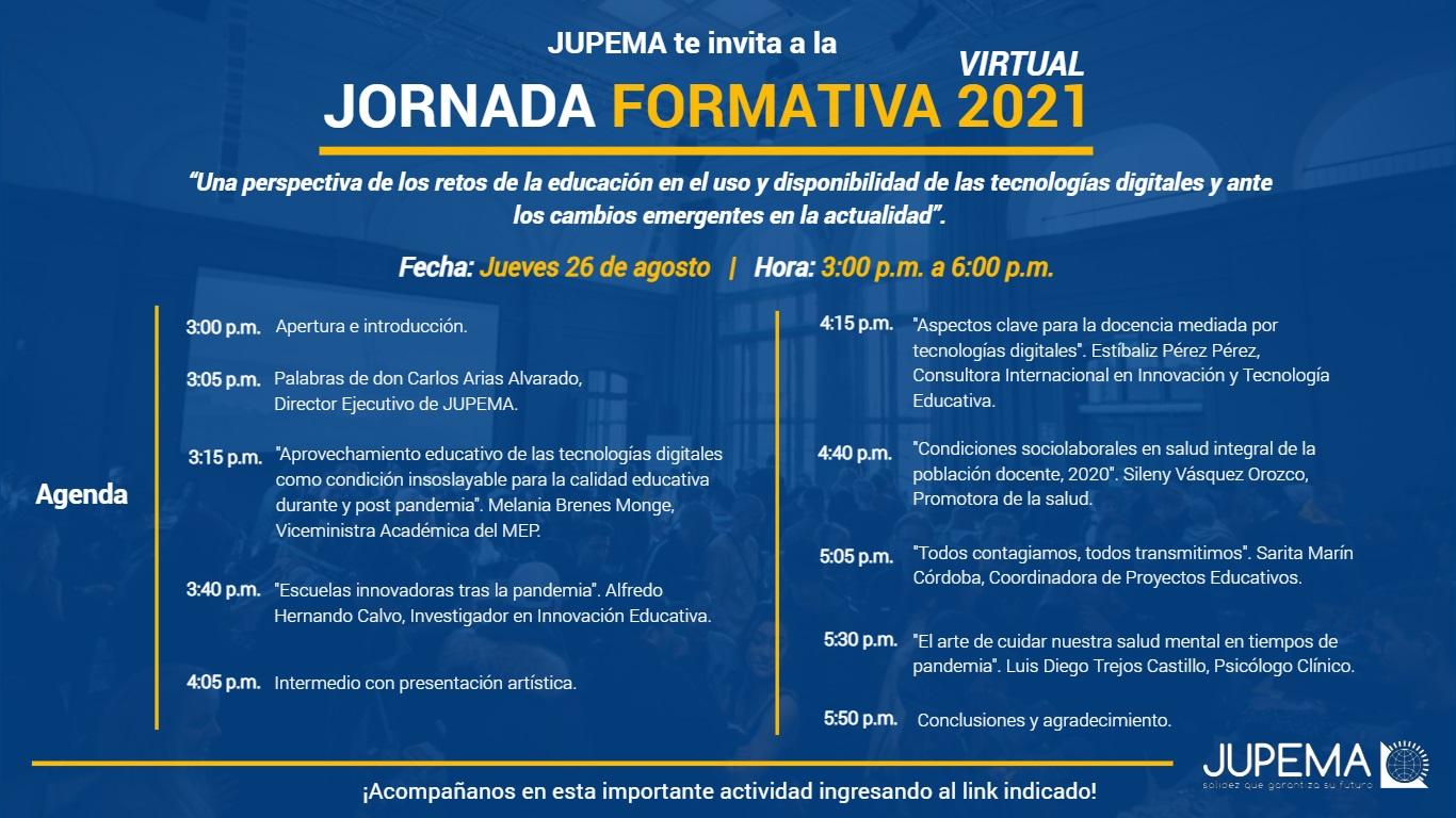 Imagen de Agenda Jornada Formativa